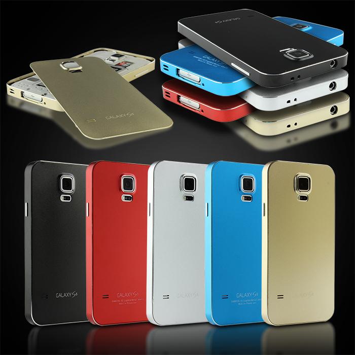 Urcover-Samsung-Galaxy-S5-Aluminium-Schutz-Huelle-Alu-Cover-Case-Bumper