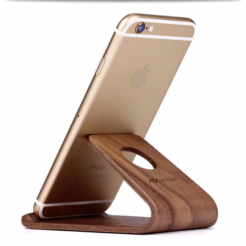 samdi phone dock echt holz ladeger t charging st nder station iphone halterung ebay. Black Bedroom Furniture Sets. Home Design Ideas